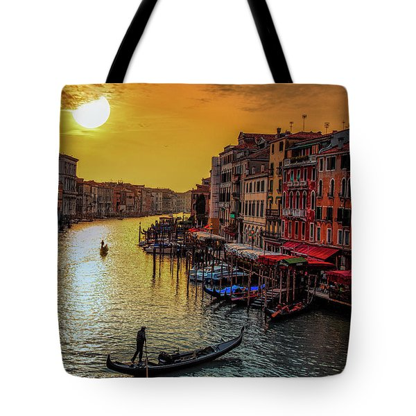 Tote Bag featuring the photograph Calling It A Day by Andrew Soundarajan
