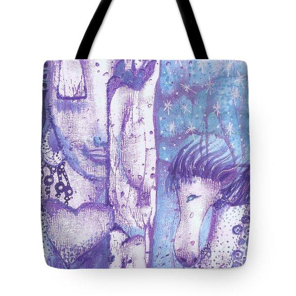 Calling Upon Spirit Animals Tote Bag