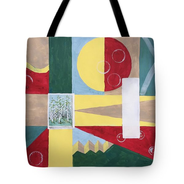 Calm And Chaos Tote Bag