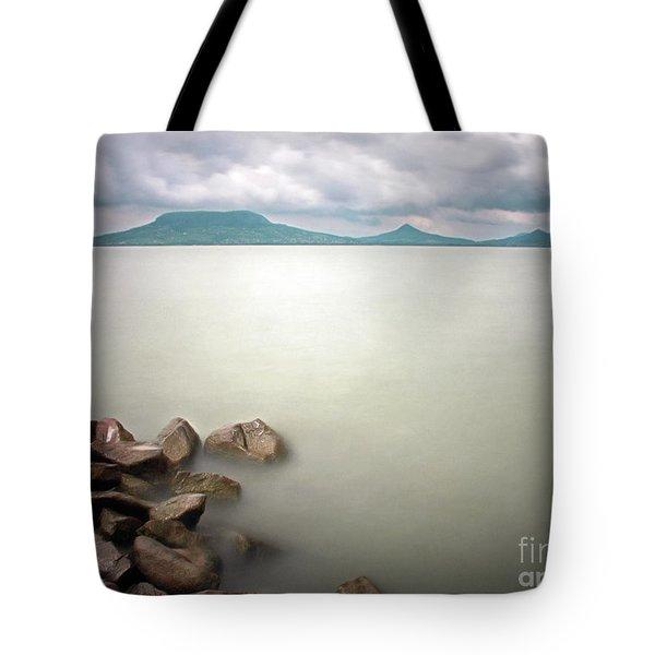 Calm At The Lake Tote Bag