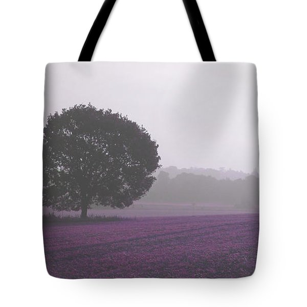 Calm Autumn Mist Tote Bag