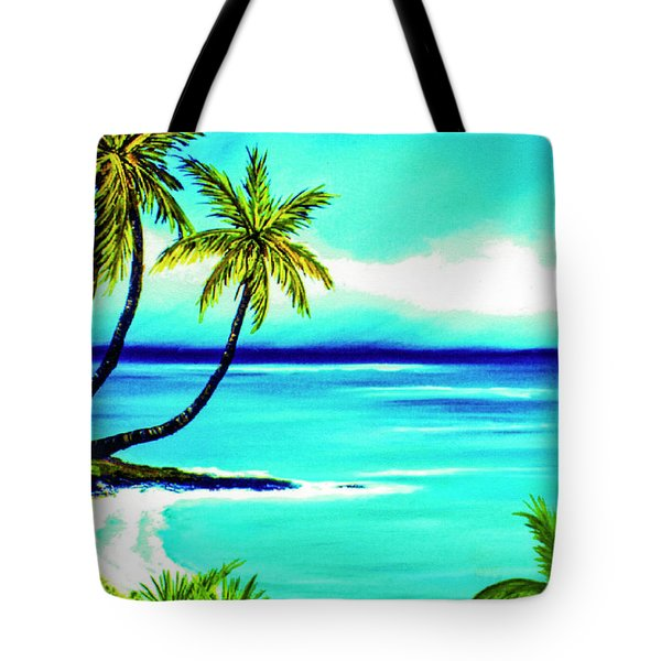 Calm Bay #53 Tote Bag by Donald k Hall