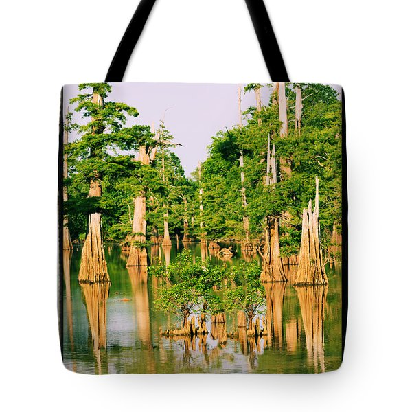 Calm Bayou Tote Bag