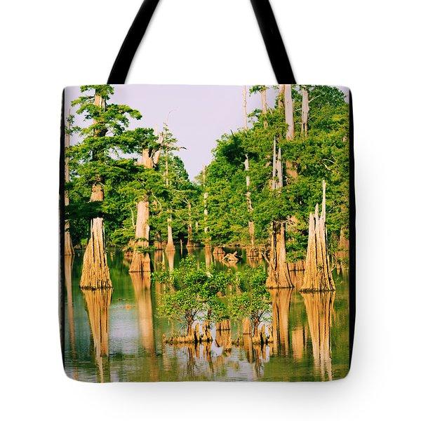 Calm Bayou Tote Bag