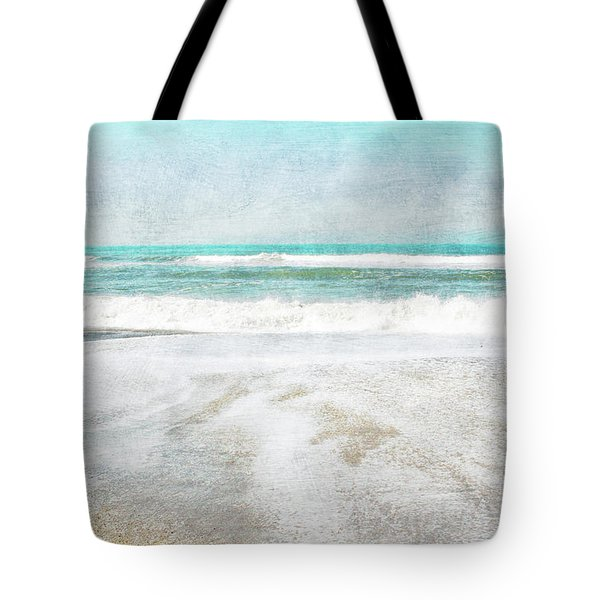 Calm Coast- Art By Linda Woods Tote Bag