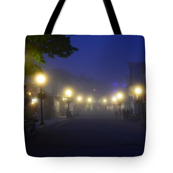 Calm In The Streets Tote Bag