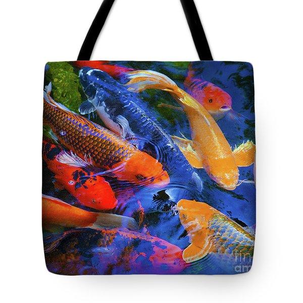 Calm Koi Fish Tote Bag