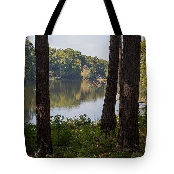Calm Lake Waters Tote Bag by Kevin McCarthy