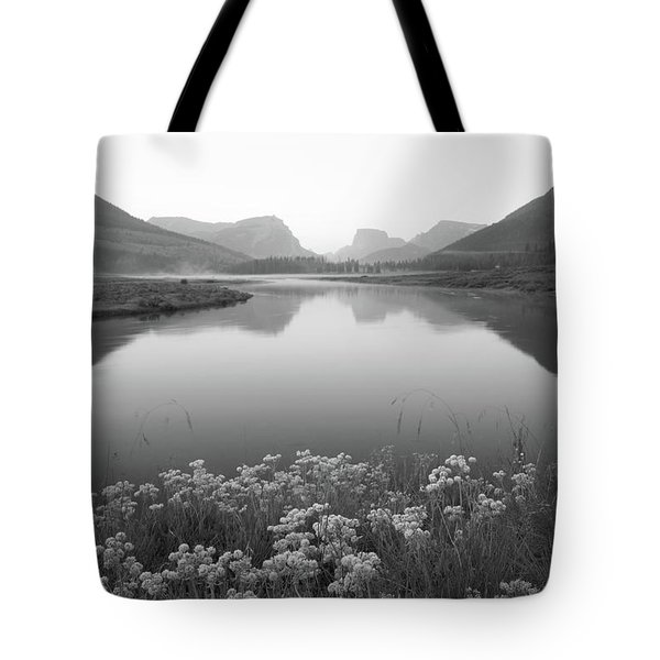 Tote Bag featuring the photograph Calm Morning  by Dustin LeFevre