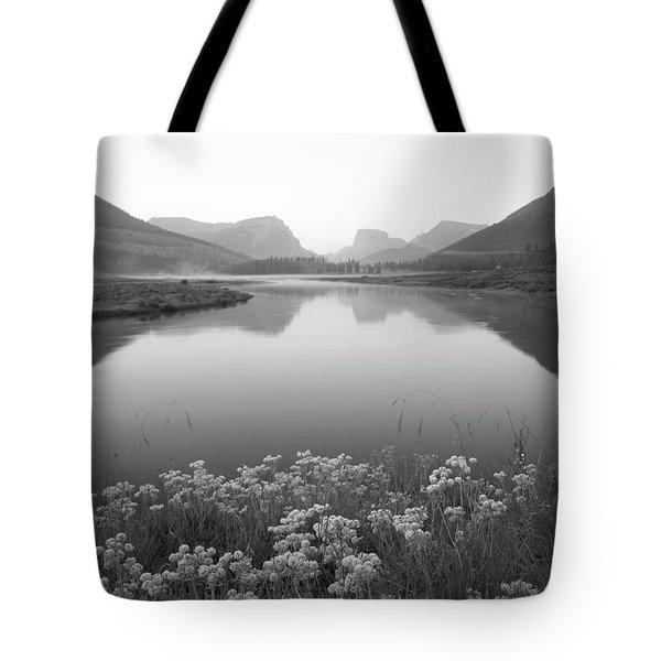 Calm Morning  Tote Bag by Dustin LeFevre