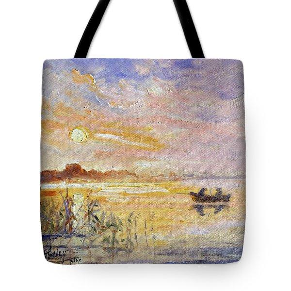 Calm Morning Tote Bag
