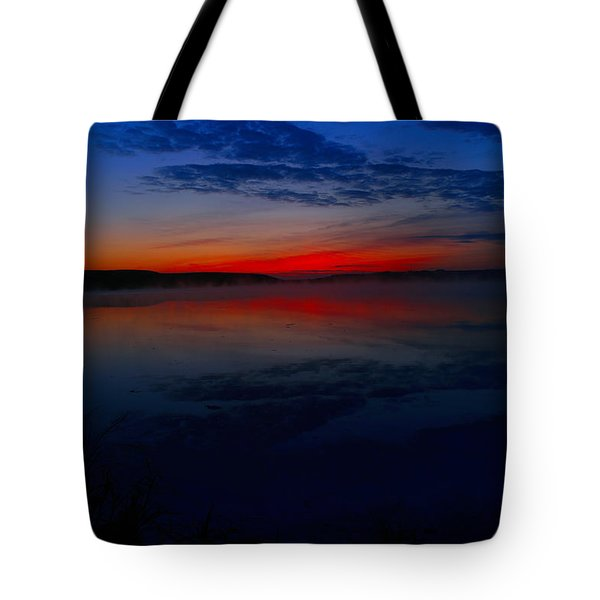 Calm Of Early Morn Tote Bag