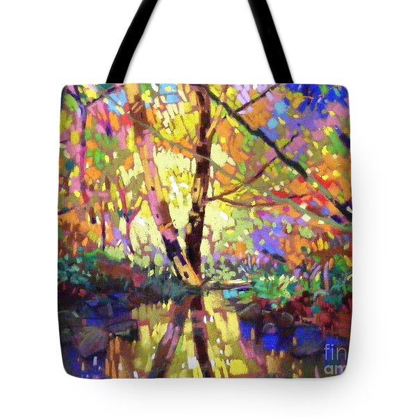 Calm Reflection Tote Bag