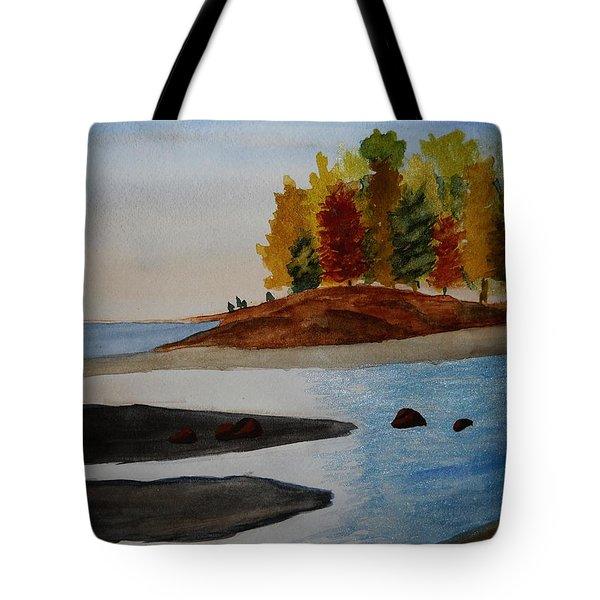 Calm Tide Tote Bag