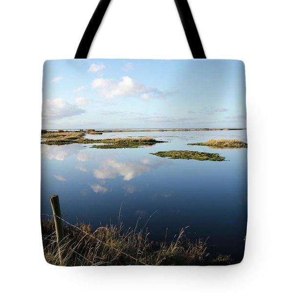 Calm Wetland Tote Bag by Kennerth and Birgitta Kullman