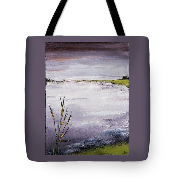 Calmer Water Tote Bag