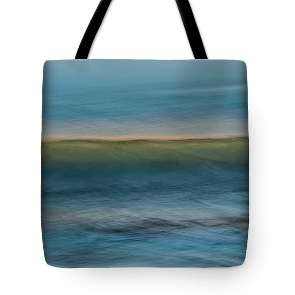 Calming Blue Tote Bag