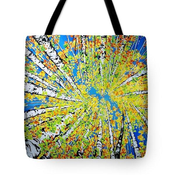 Calming Canopy Tote Bag