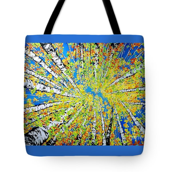 Calming Canopy Tote Bag by Jackie Carpenter