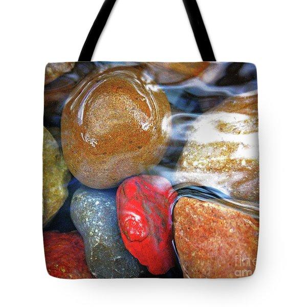 Calming Stones Tote Bag