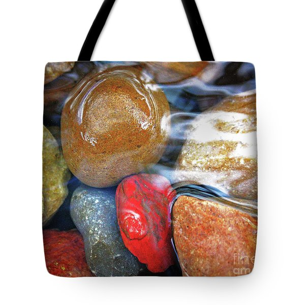 Calming Stones Tote Bag