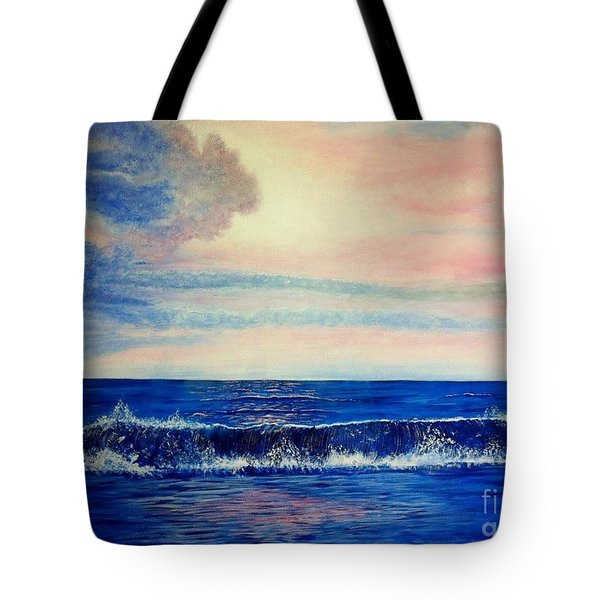 Calming Wave Tote Bag