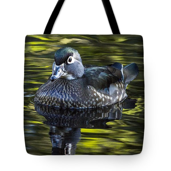 Calmness On The Water Tote Bag