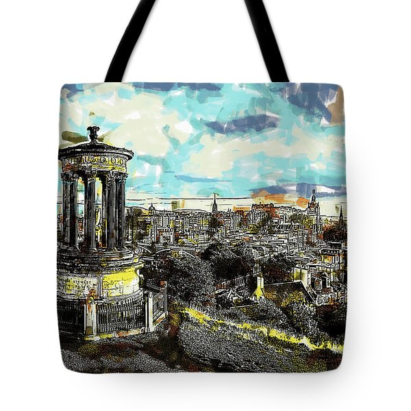 Calton Hill Edinburgh Tote Bag
