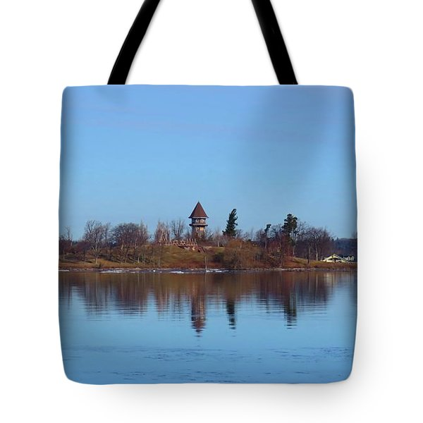 Calumet Island Reflections Tote Bag