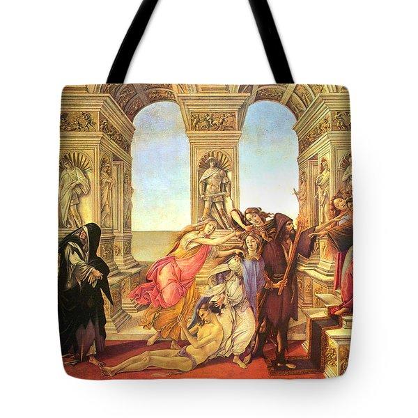 Calumny Of Apelles  Tote Bag