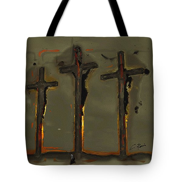 Calvary Tote Bag