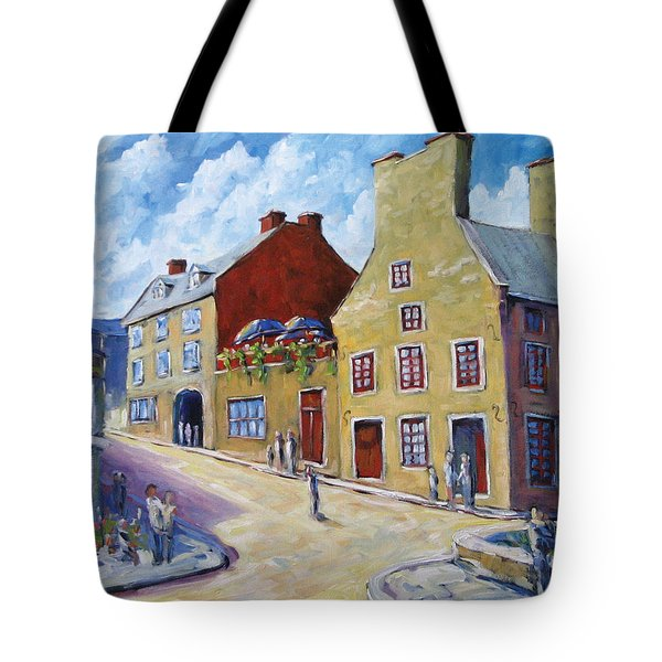 Calvet House Old Montreal Tote Bag by Richard T Pranke