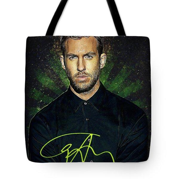 Calvin Harris Tote Bag