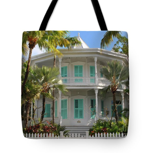 Tote Bag featuring the photograph Calvin Klein House by Jost Houk