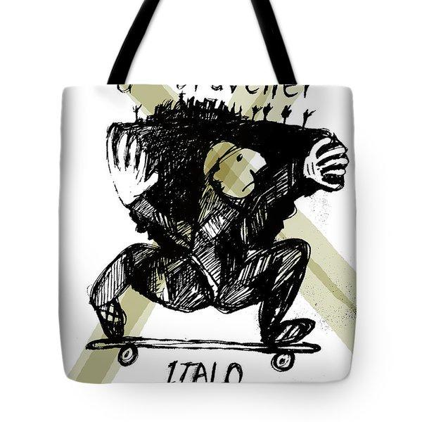 Calvino Traveller Poster  Tote Bag