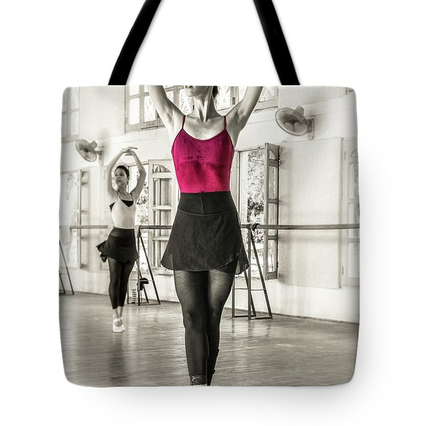 Tote Bag featuring the photograph Camaguey Ballet 1 by Lou Novick