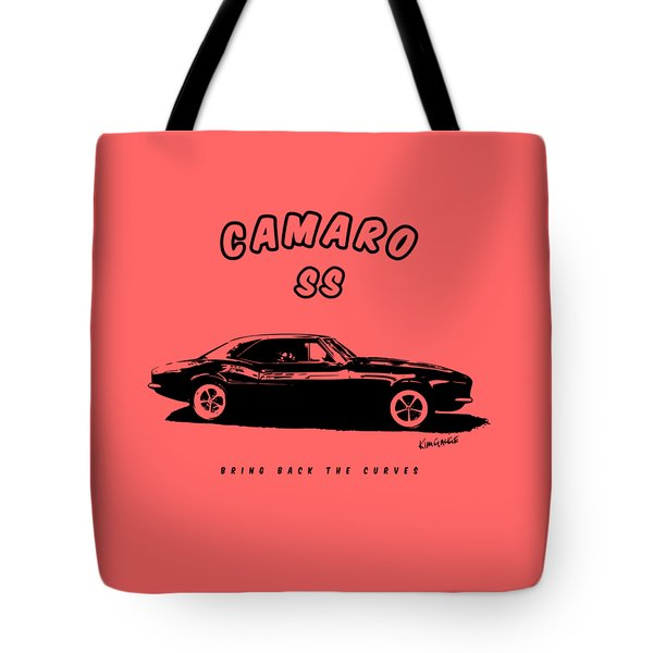 Camaro Ss Tote Bag by Kim Gauge