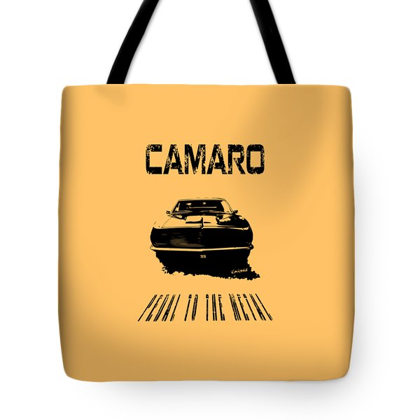 Camaro Ss - Pedal To The Metal Tote Bag