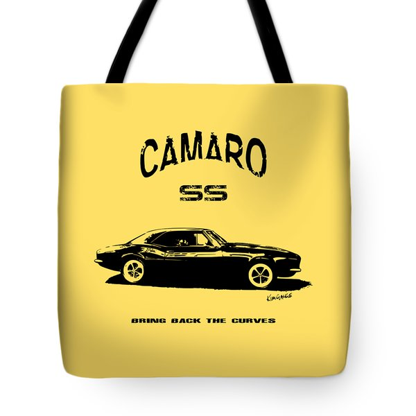 Camaro Ss V.2 Tote Bag by Kim Gauge