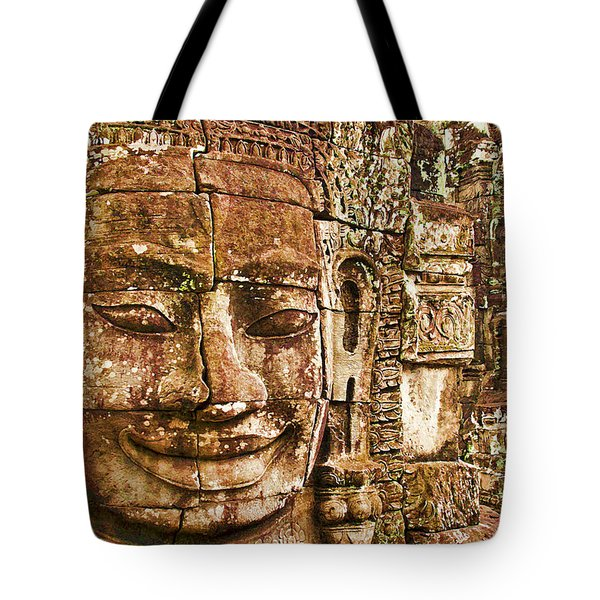 Cambodia Faces  Tote Bag by Dennis Cox WorldViews