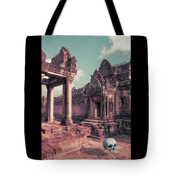 Tote Bag featuring the photograph Cambodian Blue by Joseph Westrupp