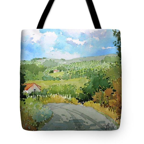 Cambria Countryside Tote Bag