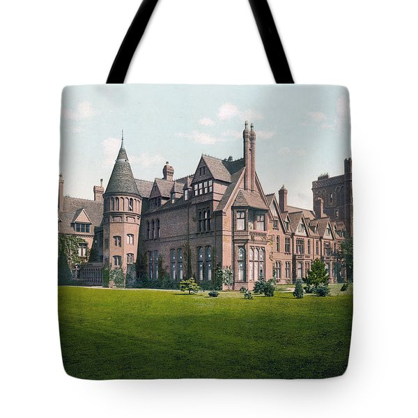Cambridge - England - Girton College Tote Bag