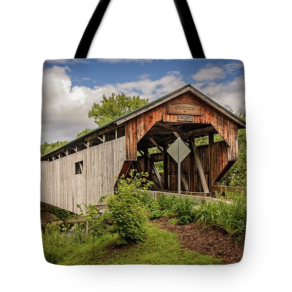 Cambridge Junction Bridge Tote Bag