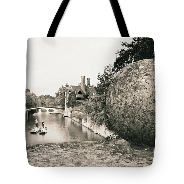 Cambridge Punting  Tote Bag
