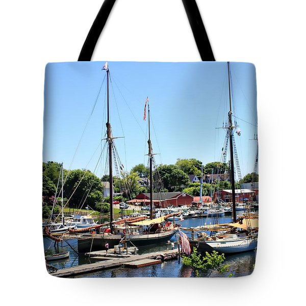 Camden Harbor #2 Tote Bag