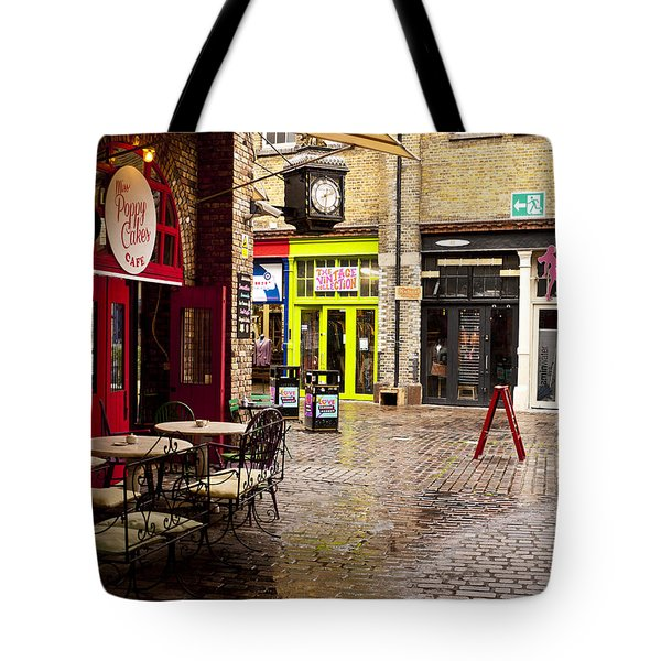 Camden Stables Market Tote Bag by Rae Tucker