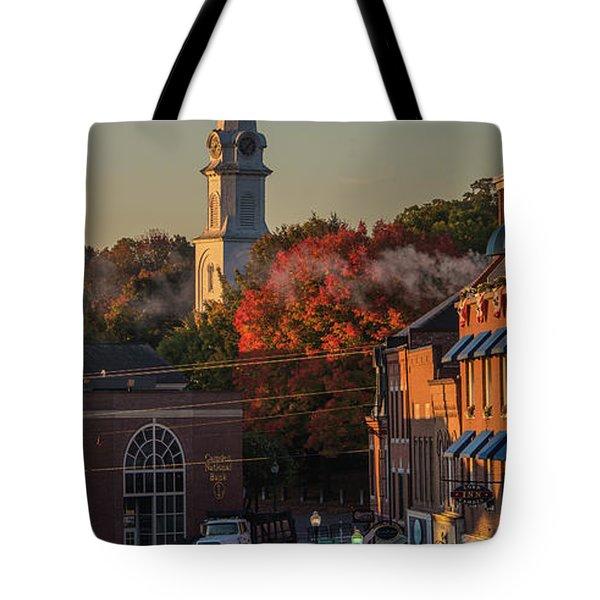 Camden Steeple Tote Bag