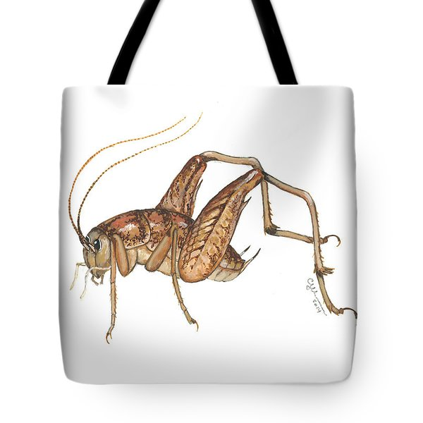 Camel Cricket Tote Bag