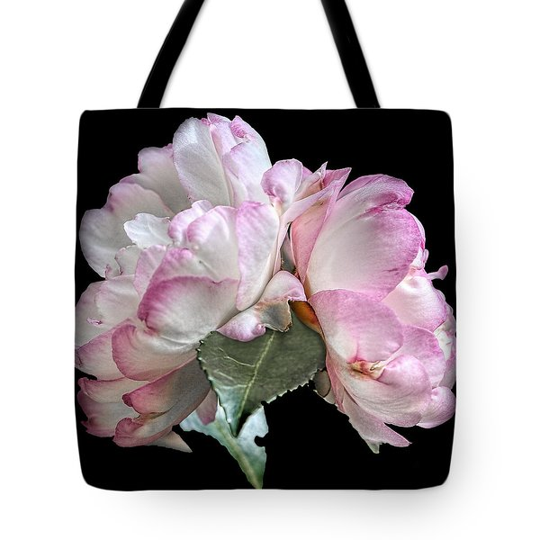 Tote Bag featuring the photograph Camelia by Susi Stroud